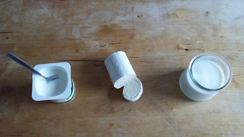 produits laitiers et fermentés, yaourts et fromages
